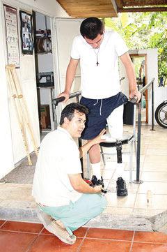 Prótesis devuelven esperanza a pacientes amputados